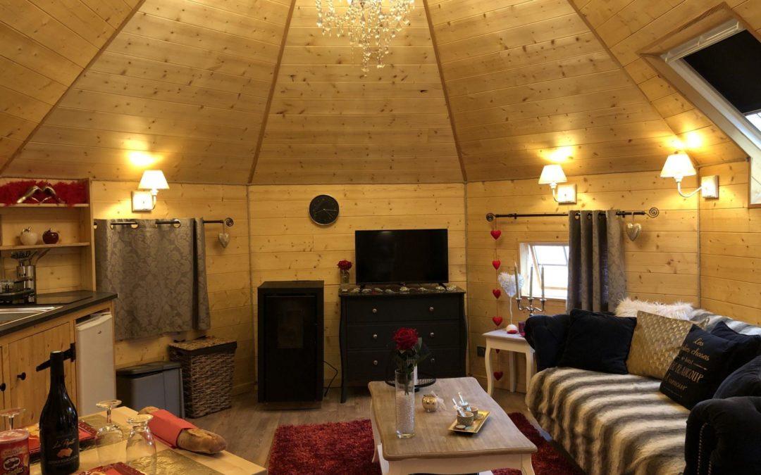 Hébergement insolite Vosges : rendez-vous chez Escale Cocooning